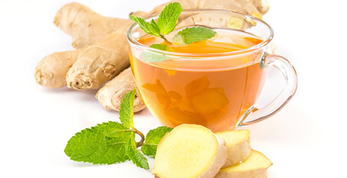 Mint Ginger Tea - Motapay Ka Ilaj Tip 7